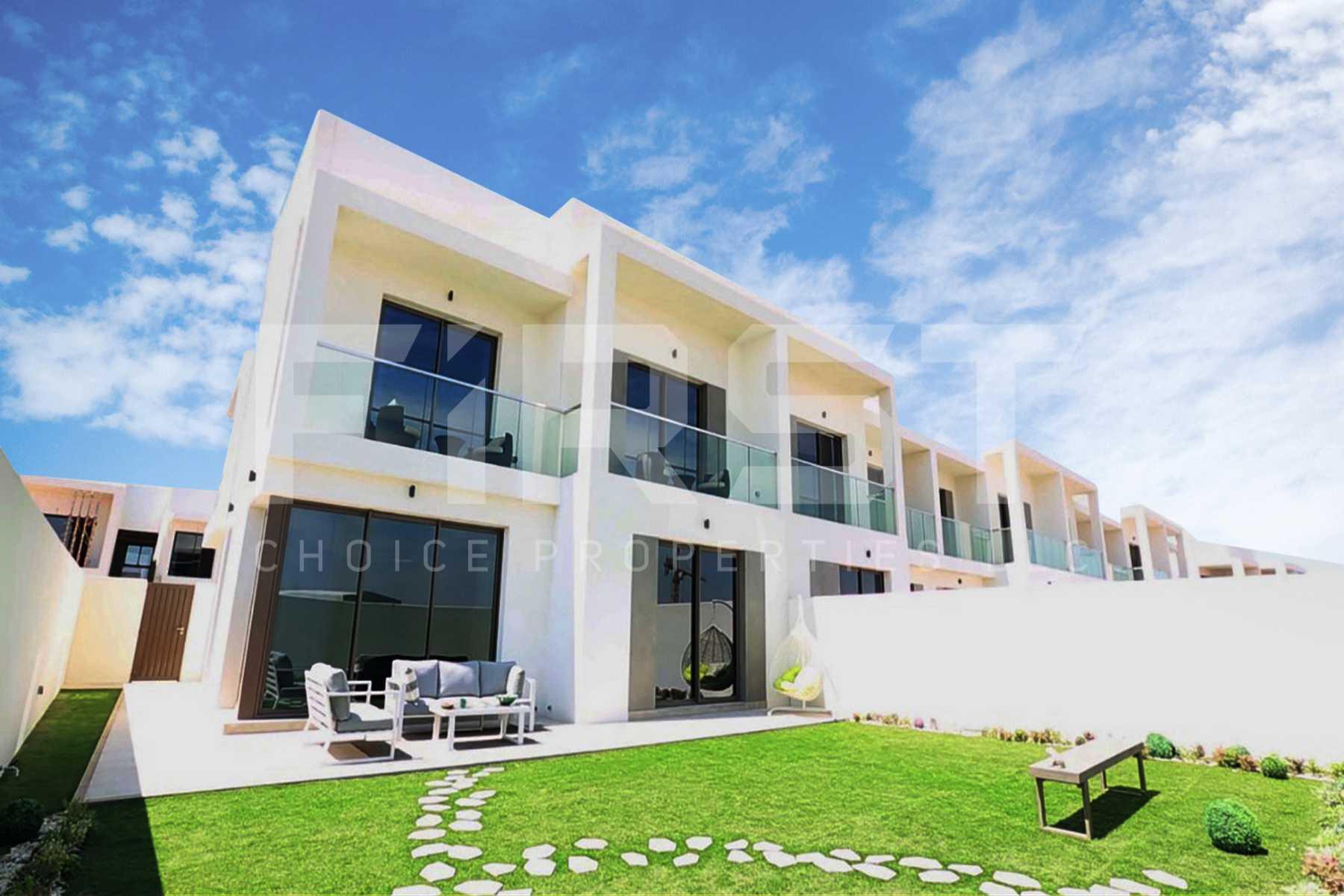 External Photo of 3 Bedroom Townhouse Type 3EA in Yas Acres Yas Island Abu Dhabi UAE (3).jpg