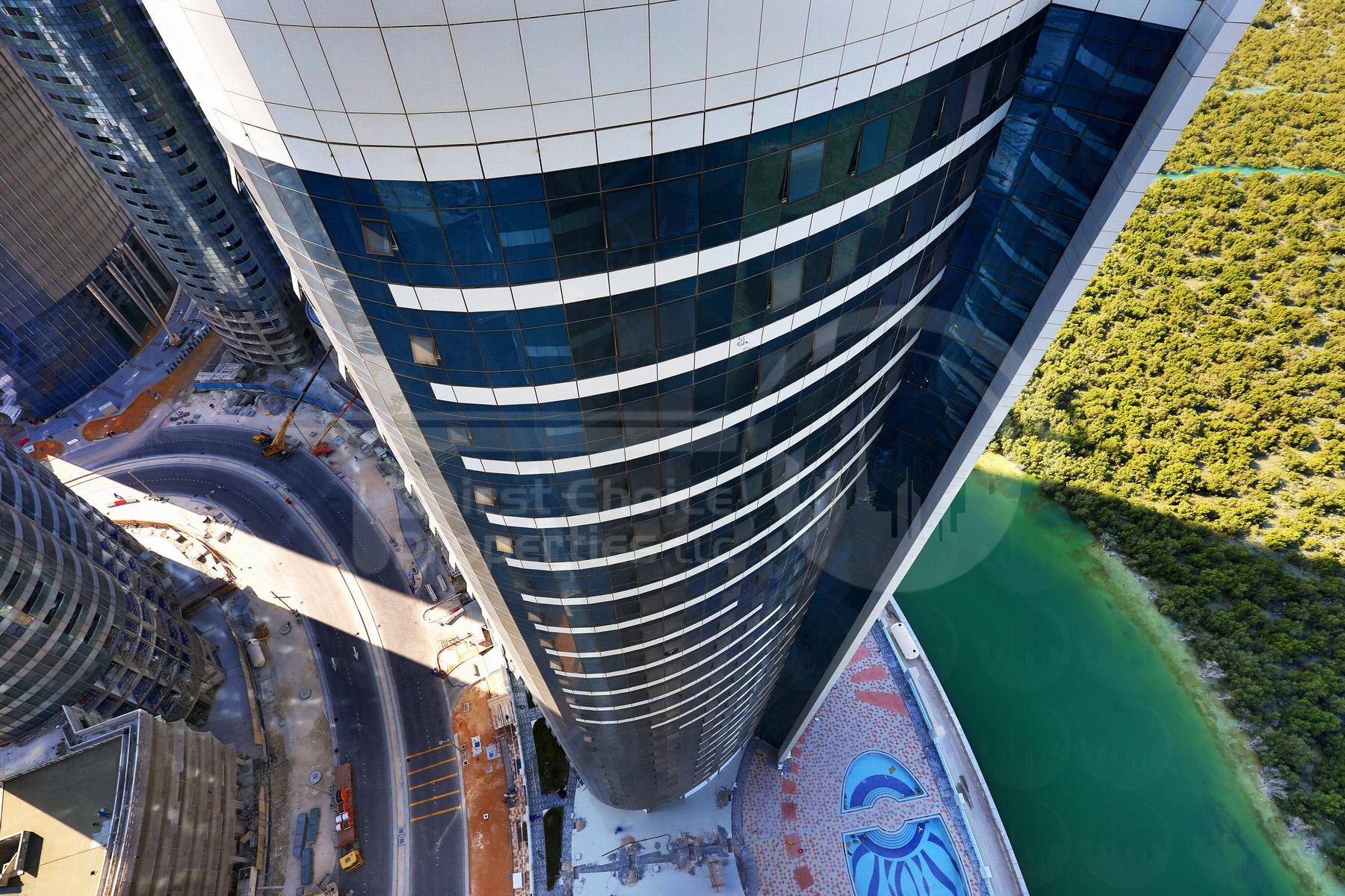 Studio - 1BR - 2BR - 3BR - 4BR Apartment - Abu Dhabi - UAE - Al Reem Island - Hydra Avenue - Outside View (47).JPG