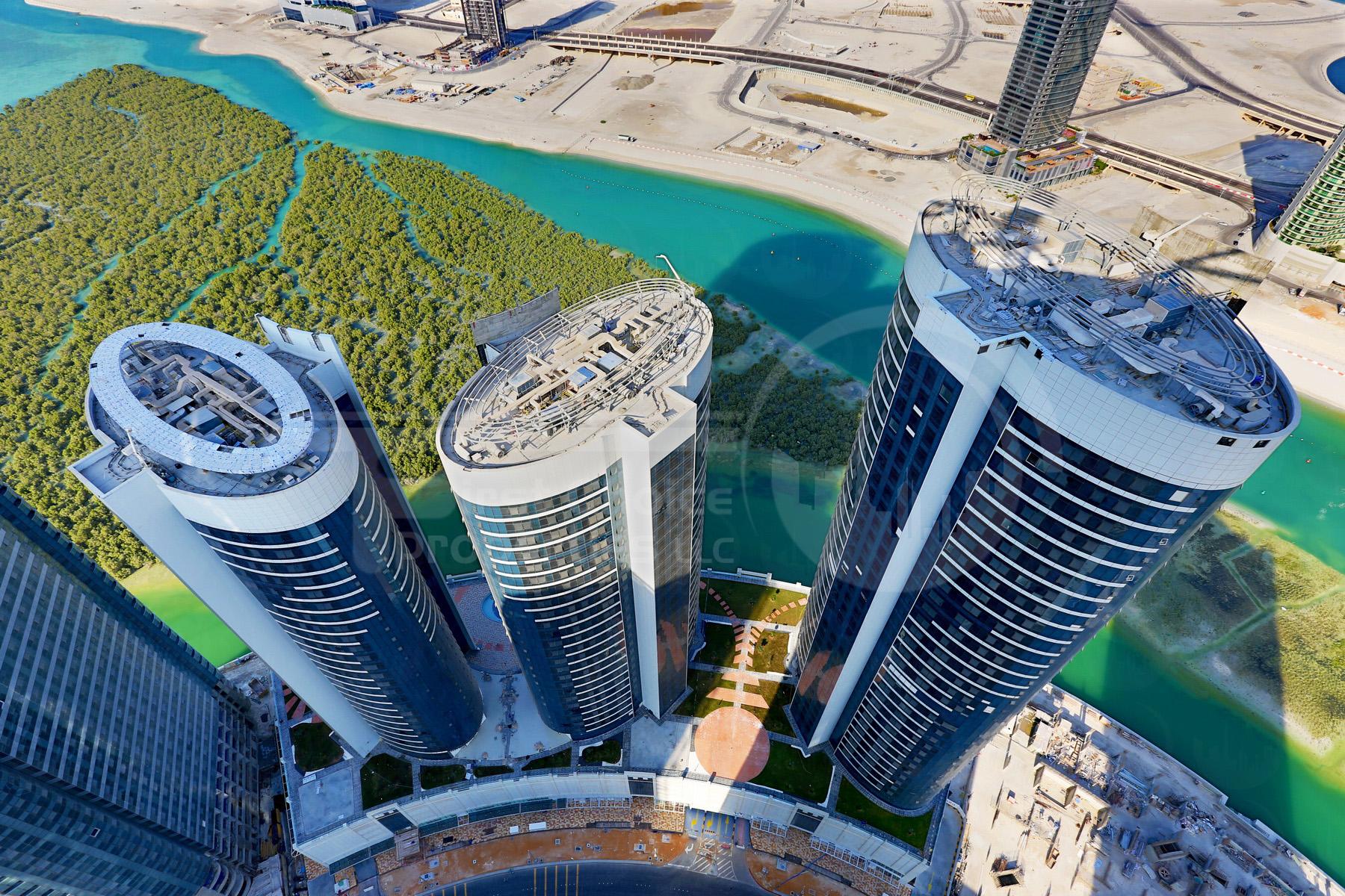 Studio - 1BR - 2BR - 3BR - 4BR Apartment - Abu Dhabi - UAE - Al Reem Island - Hydra Avenue - Outside View (56).JPG