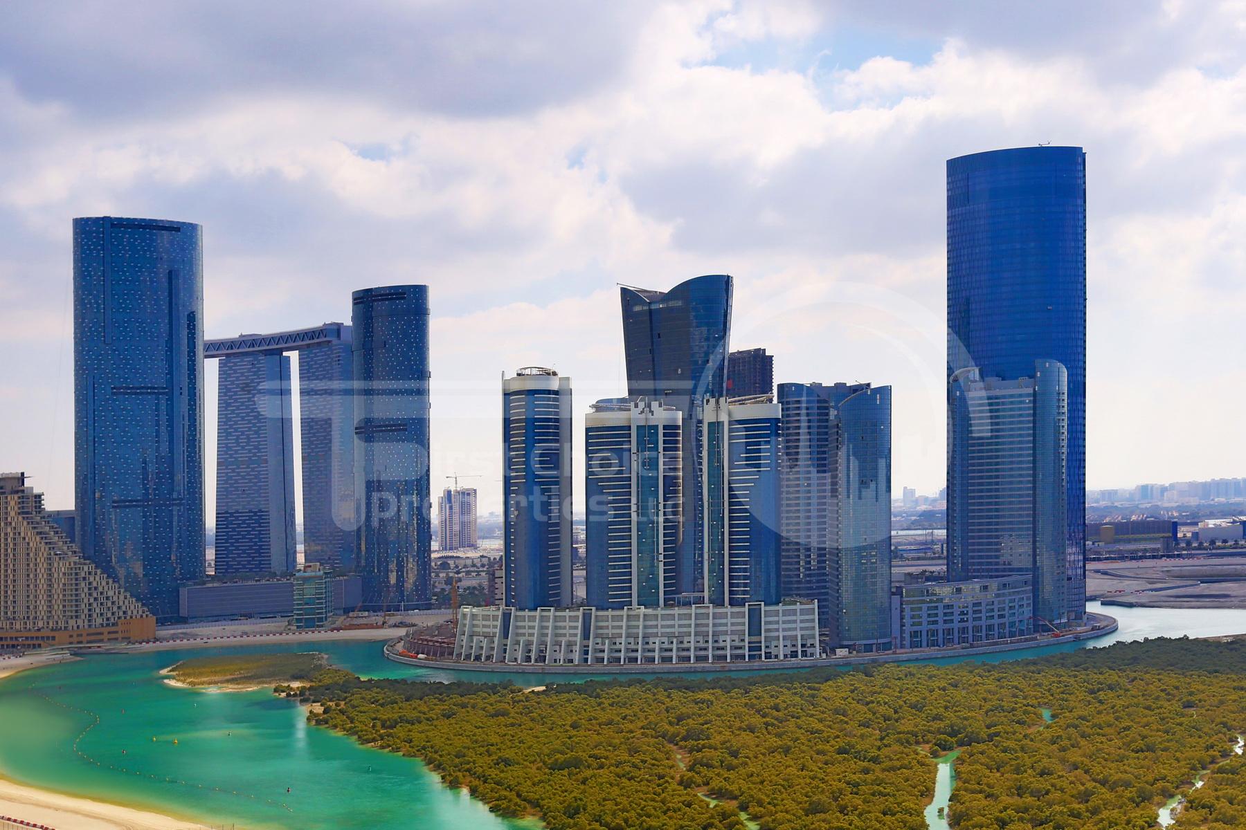 Studio - 1BR - 2BR - 3BR - 4BR Apartment - Abu Dhabi - UAE - Al Reem Island - Hydra Avenue - Outside View (60).JPG