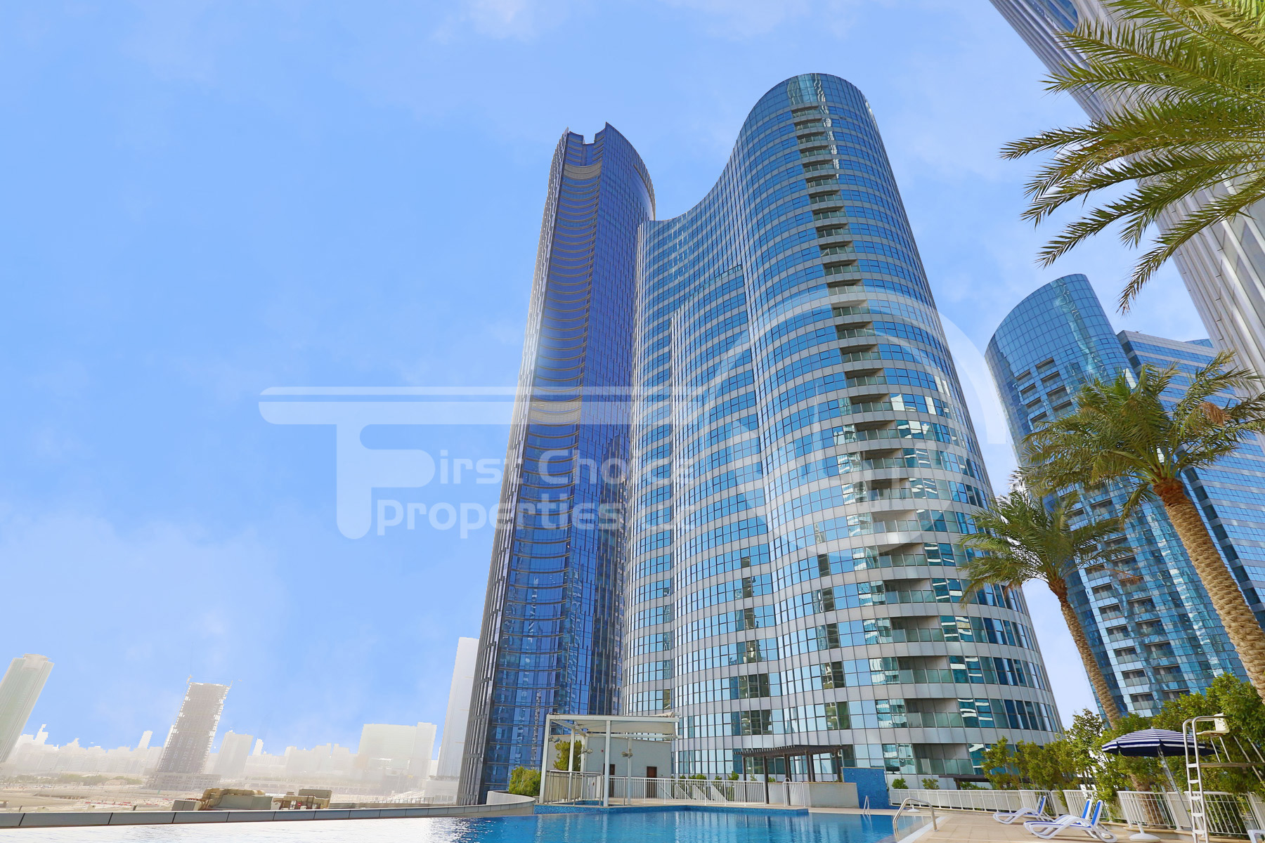 Studio - 1BR - 2BR - 3BR Apartment - Abu Dhabi - UAE - Al Reem Island - City of Lights - C2 Building - C3 Building - Outside View (32).JPG
