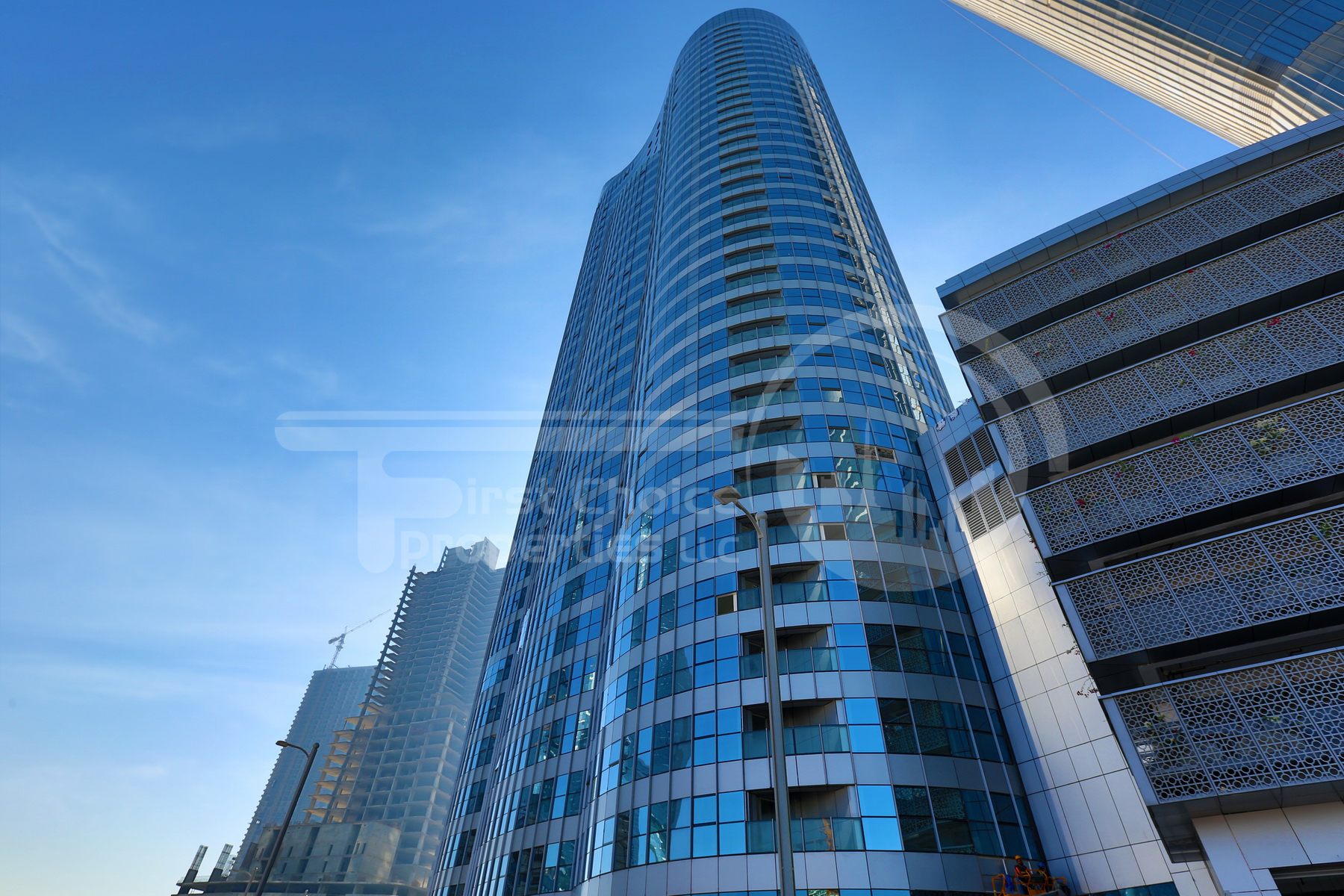 Studio - 1BR - 2BR - 3BR Apartment - Abu Dhabi - UAE - Al Reem Island - City of Lights - C2 Building - C3 Building - Outside View (1).JPG