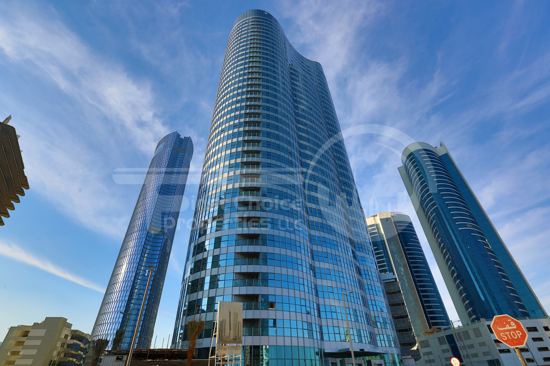 Studio - 1BR - 2BR - 3BR Apartment - Abu Dhabi - UAE - Al Reem Island - City of Lights - C2 Building - C3 Building - Outside View (38).JPG