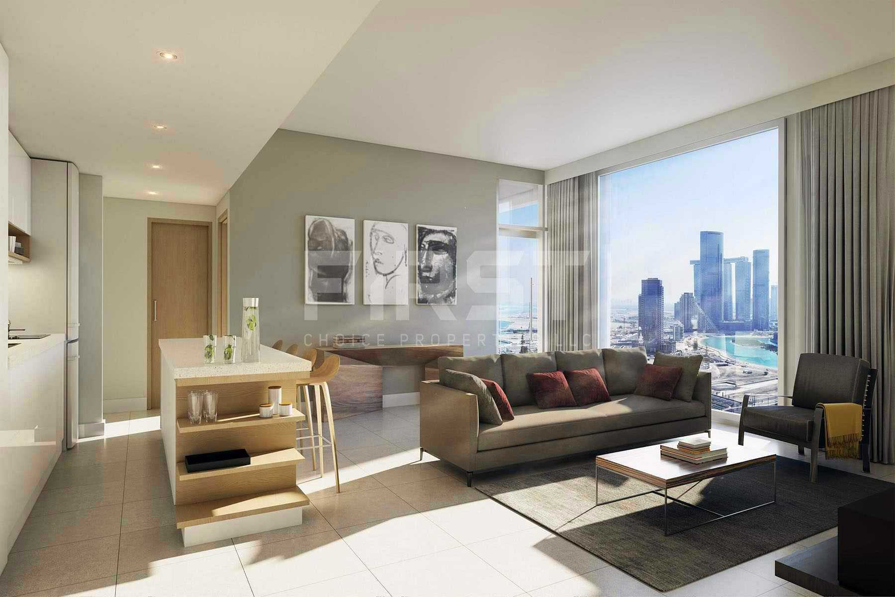 Studio,1 Bedroom, 2 Bedroom, 3 Bedroom,Apartment in The Bridges,Shams Abu Dhabi,Al Reem Island- Abu Dhabi-UAE (4).jpg