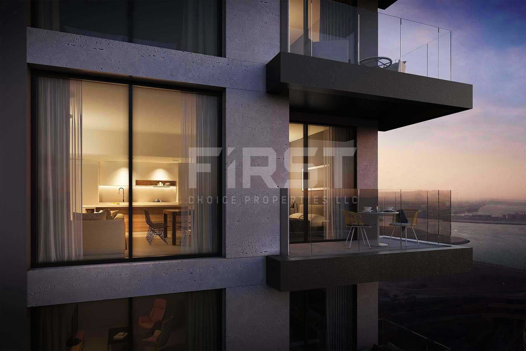 Studio,1 Bedroom, 2 Bedroom, 3 Bedroom,Apartment in The Bridges,Shams Abu Dhabi,Al Reem Island- Abu Dhabi-UAE (13).jpg