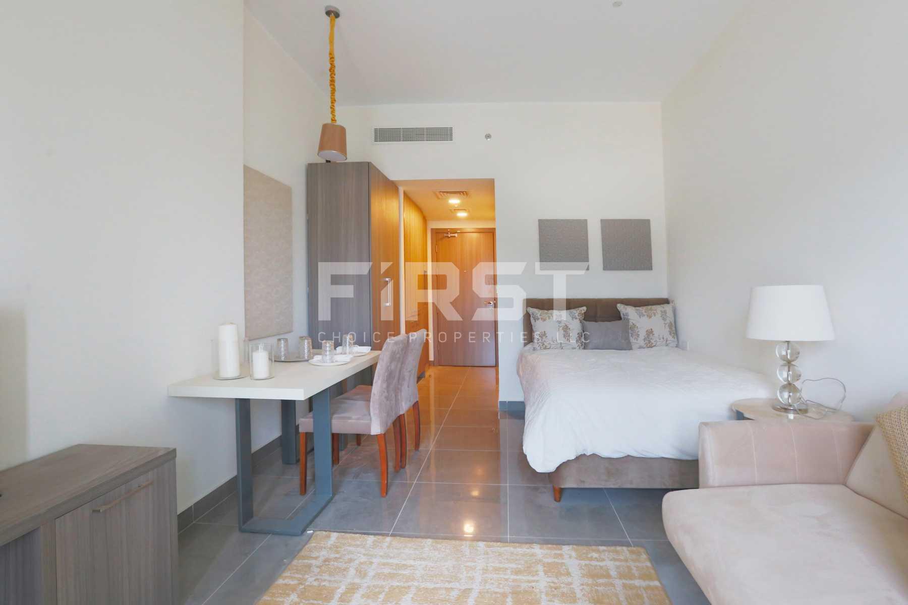 Internal Photo of Studio Apartment in Leonardo Residences Masdar City Abu Dhabi UAE (1).jpg