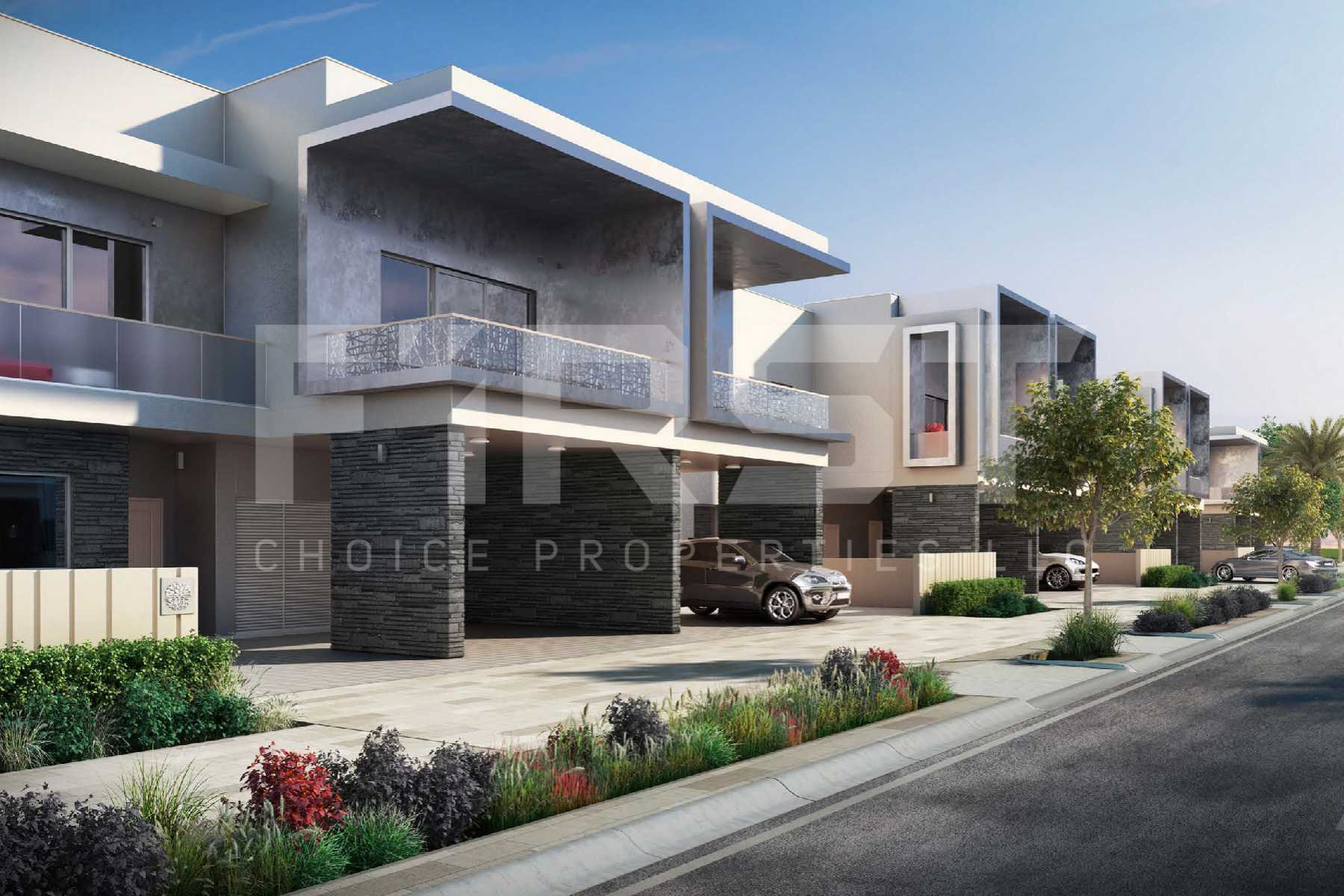 External Photo of 3 Bedroom Townhouse in Yas Acres Yas Island Abu Dhabi UAE (6).jpg