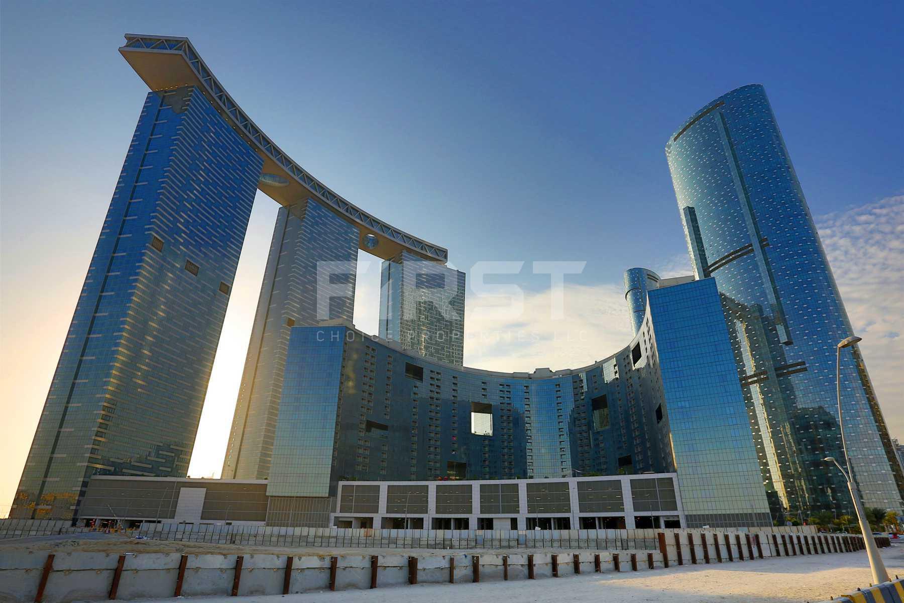 External Photo of The Gate Tower Al Reem Island Abu Dhabi UAE (15).jpg