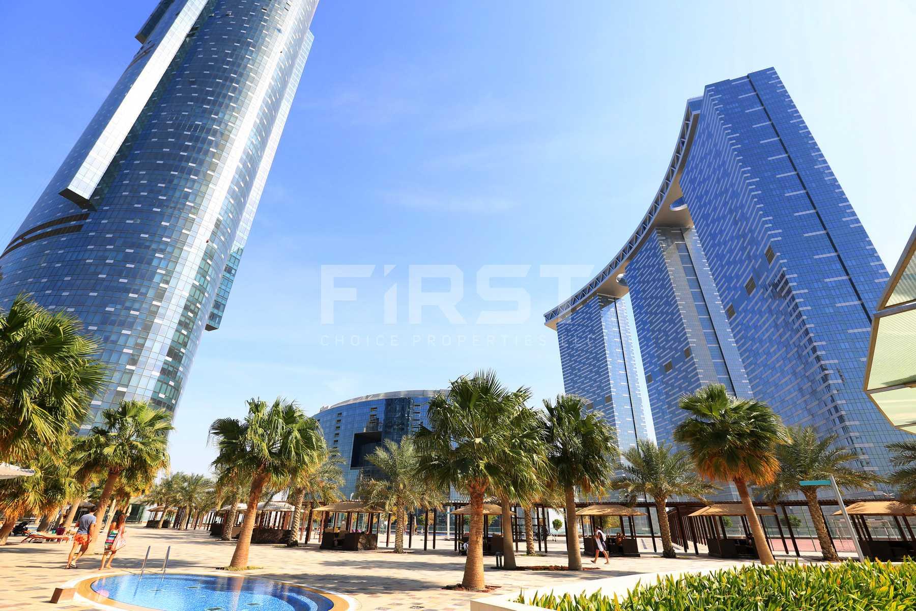 External Photo of The Gate Tower Al Reem Island Abu Dhabi UAE (25).jpg