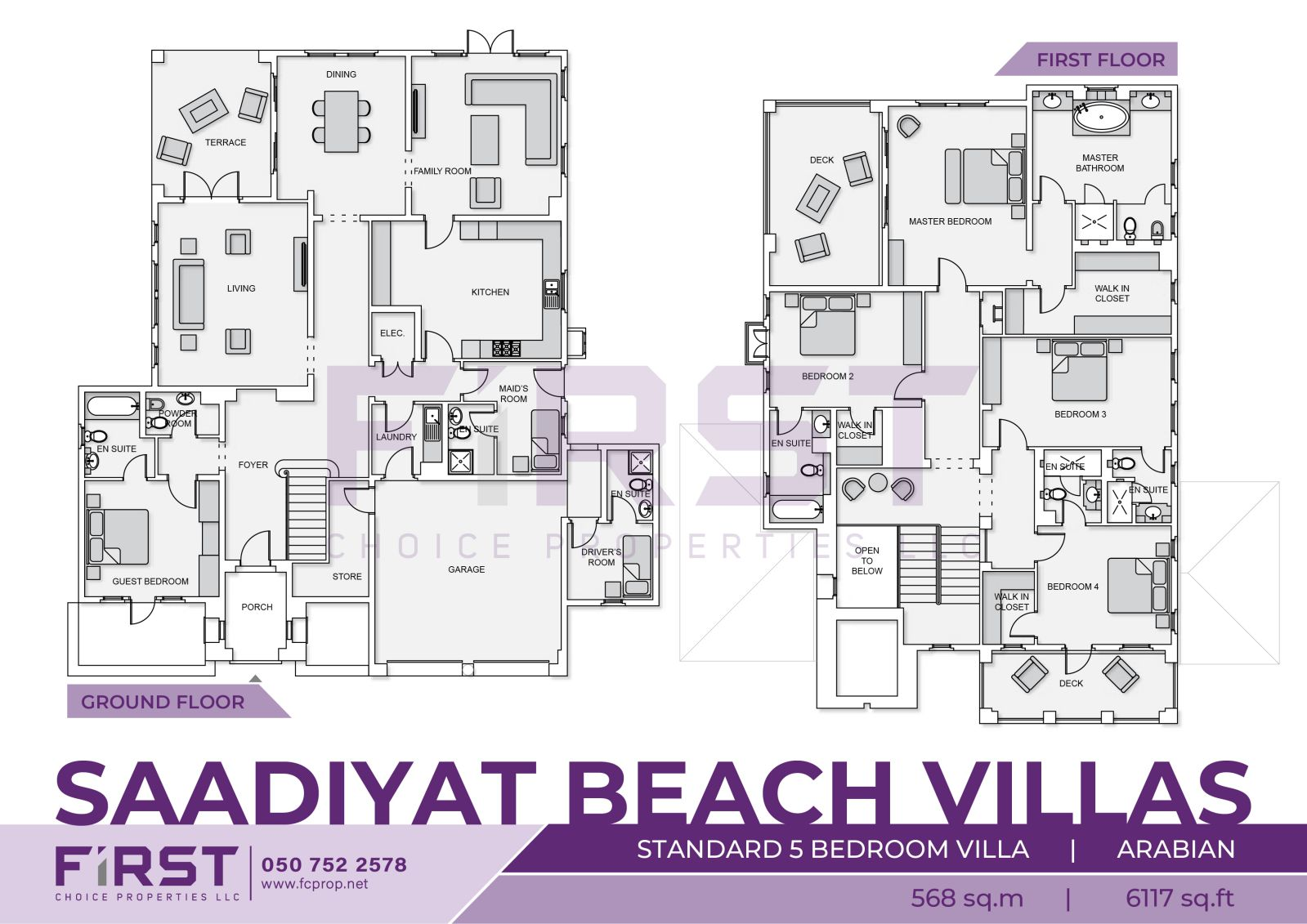 Saadiyat Beach Villas Saadiyat Island Arabian Village Standard 5 Bedroom VIlla 568 sq.m 6117 sq.ft .jpg