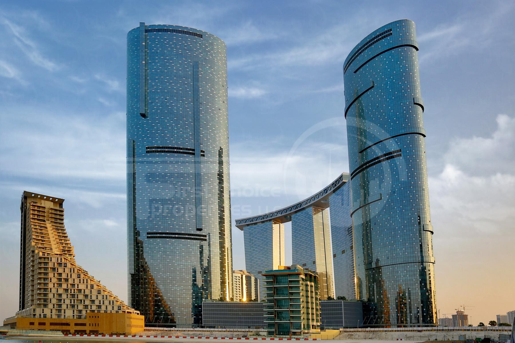 Studio - 1BR - 2BR - 3BR - 4BR Apartment - Abu Dhabi - UAE - Al Reem Island - Sun and  Sky Tower - Outside View (38).JPG