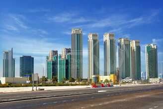 Studio - 1BR - 2BR - 3BR - 4BR Apartment - Abu Dhabi - UAE - Al Reem Island - Marina Square - Outside View (73).jpg