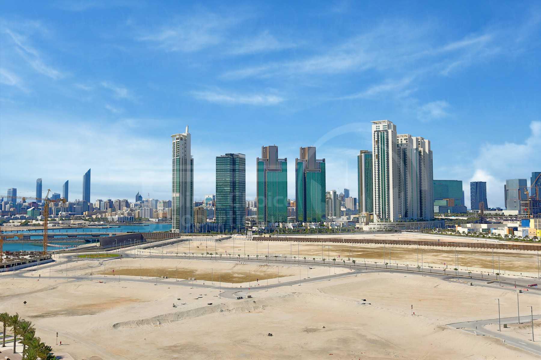 Studio - 1BR - 2BR - 3BR - 4BR Apartment - Abu Dhabi - UAE - Al Reem Island - Marina Square - Outside View (16).jpg