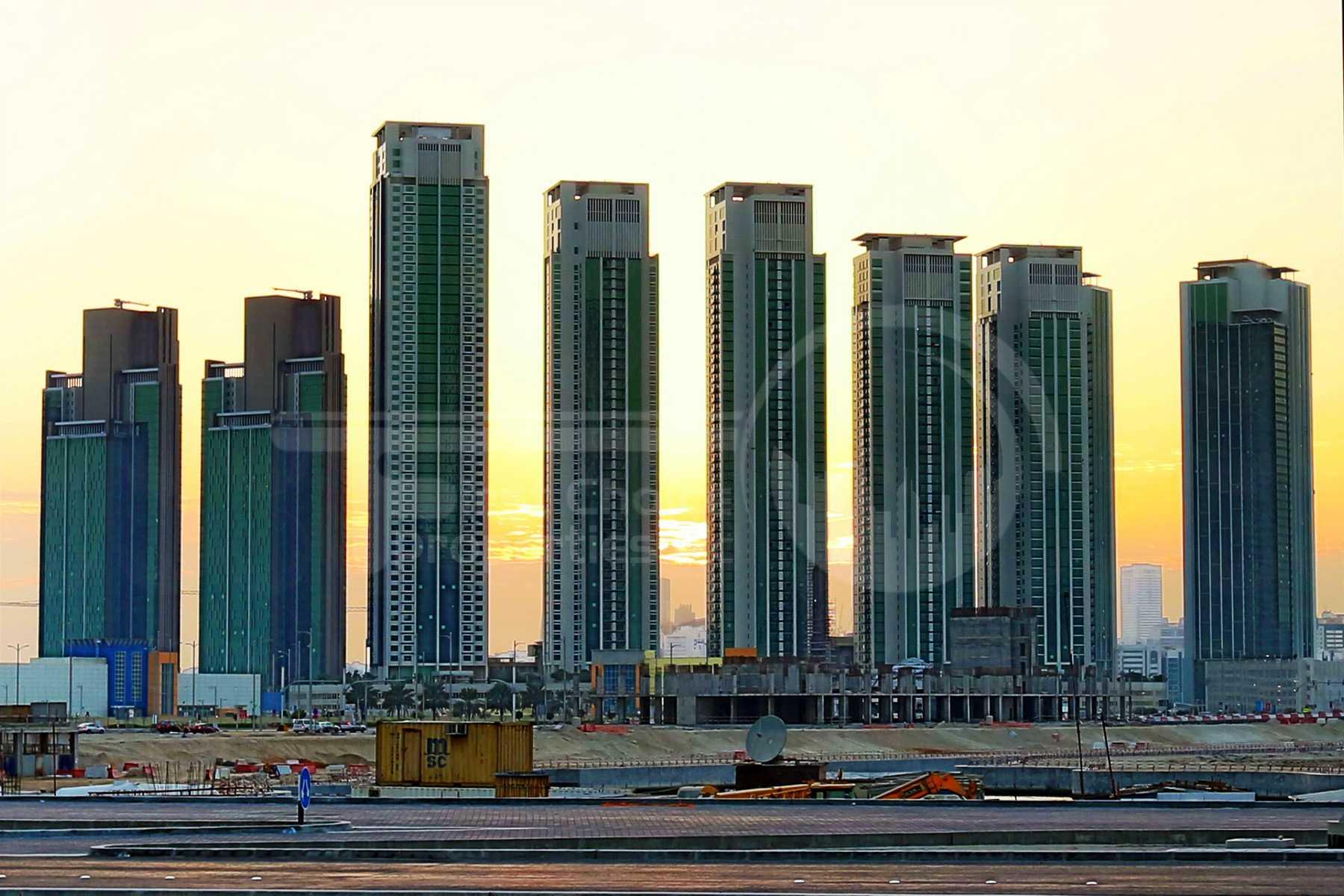 Studio - 1BR - 2BR - 3BR - 4BR Apartment - Abu Dhabi - UAE - Al Reem Island - Marina Square - Outside View (17) - Copy.jpg