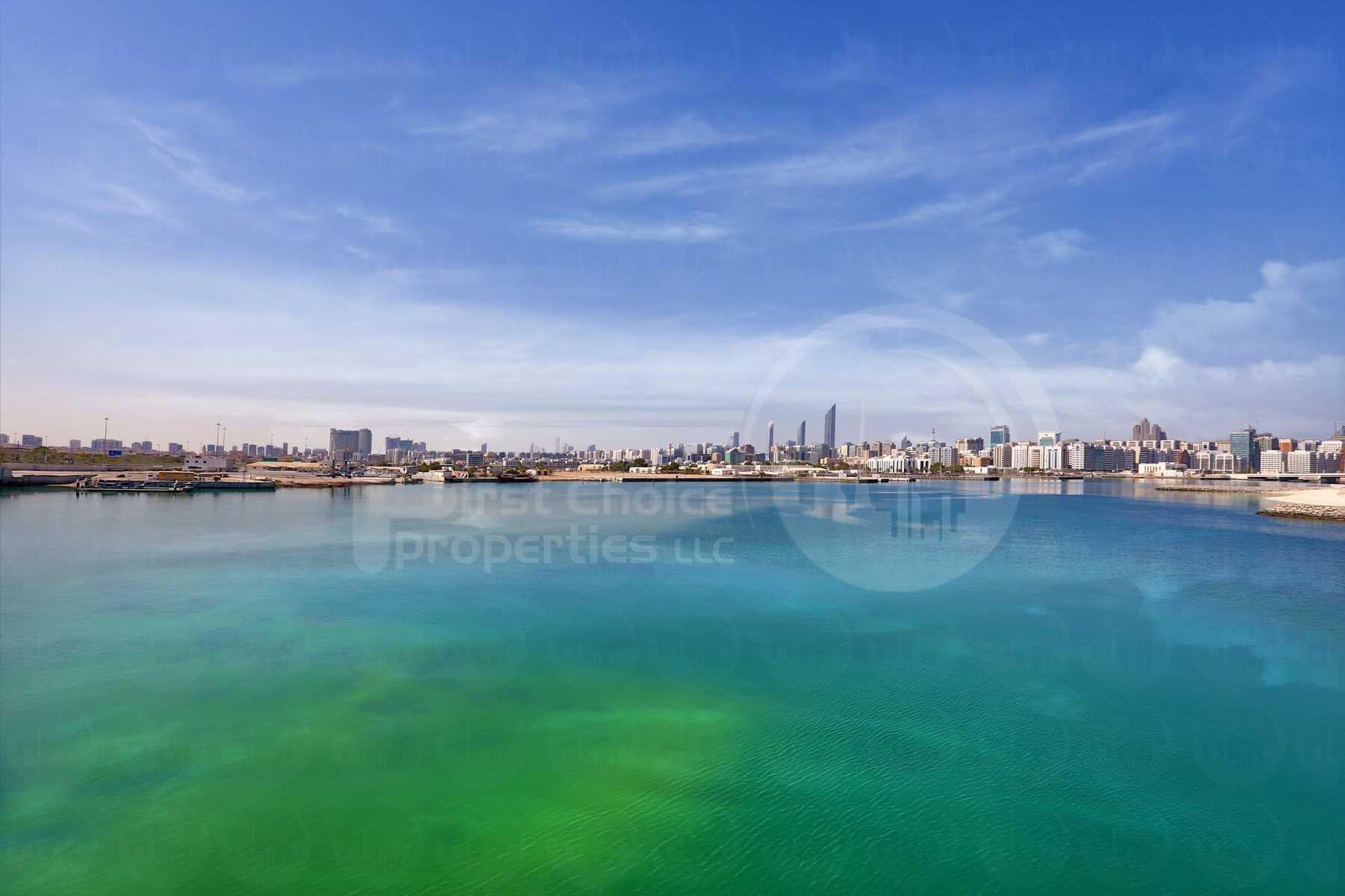 Studio - 1BR - 2BR - 3BR - 4BR Apartment - Abu Dhabi - UAE - Al Reem Island - Marina Square - Outside View (75).jpg