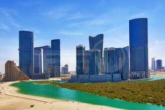 Studio - 1BR - 2BR - 3BR - 4BR Apartment - Abu Dhabi - UAE - Al Reem Island - Hydra Avenue - Outside View (4).jpg