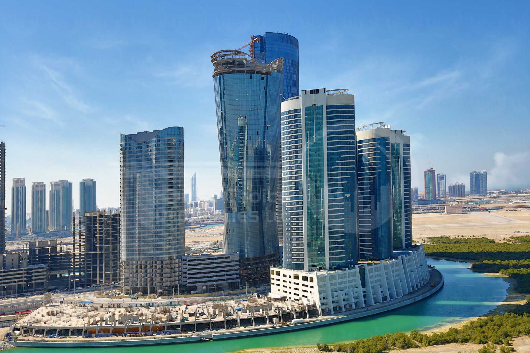 Studio - 1BR - 2BR - 3BR - 4BR Apartment - Abu Dhabi - UAE - Al Reem Island - Hydra Avenue - Outside View (21).jpg