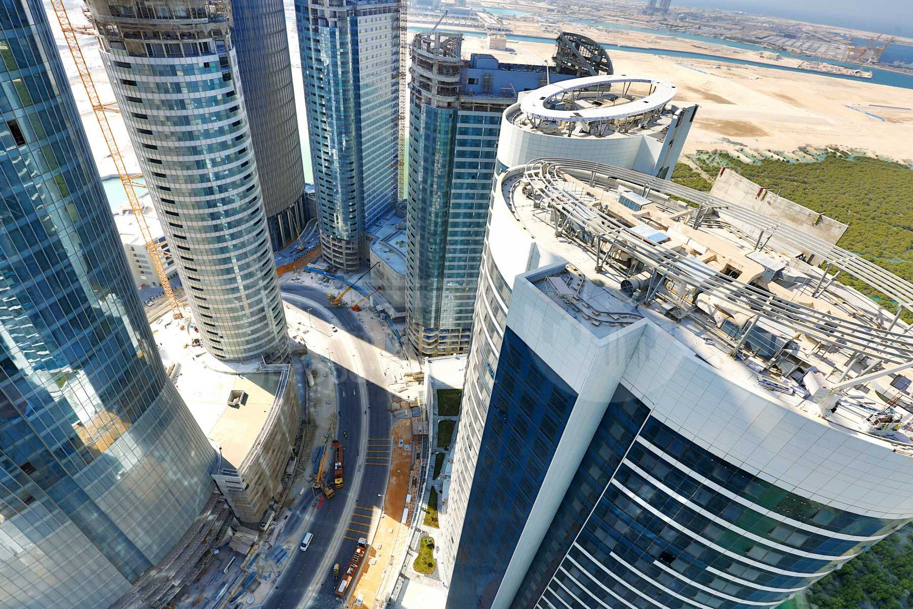 Studio - 1BR - 2BR - 3BR - 4BR Apartment - Abu Dhabi - UAE - Al Reem Island - Hydra Avenue - Outside View (39).jpg