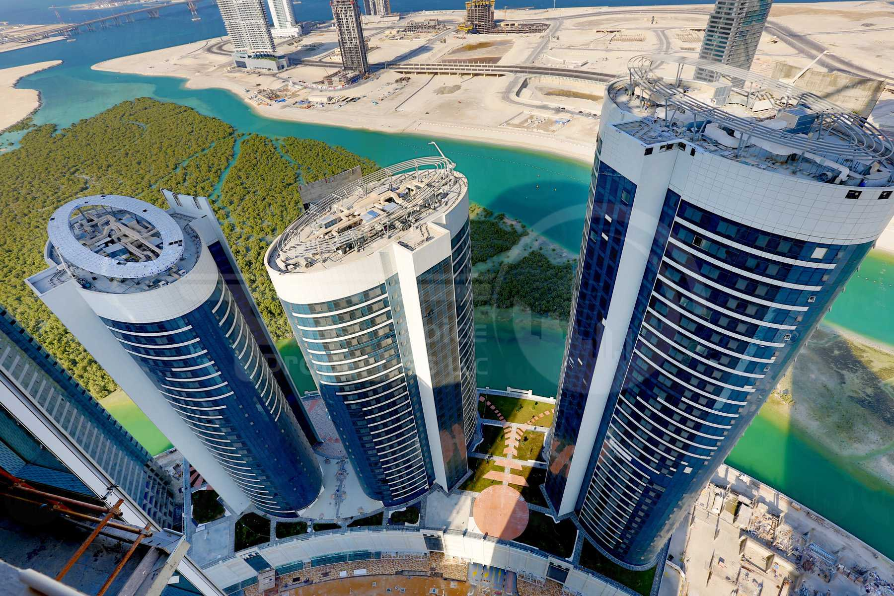 Studio - 1BR - 2BR - 3BR - 4BR Apartment - Abu Dhabi - UAE - Al Reem Island - Hydra Avenue - Outside View (51) - Copy.jpg