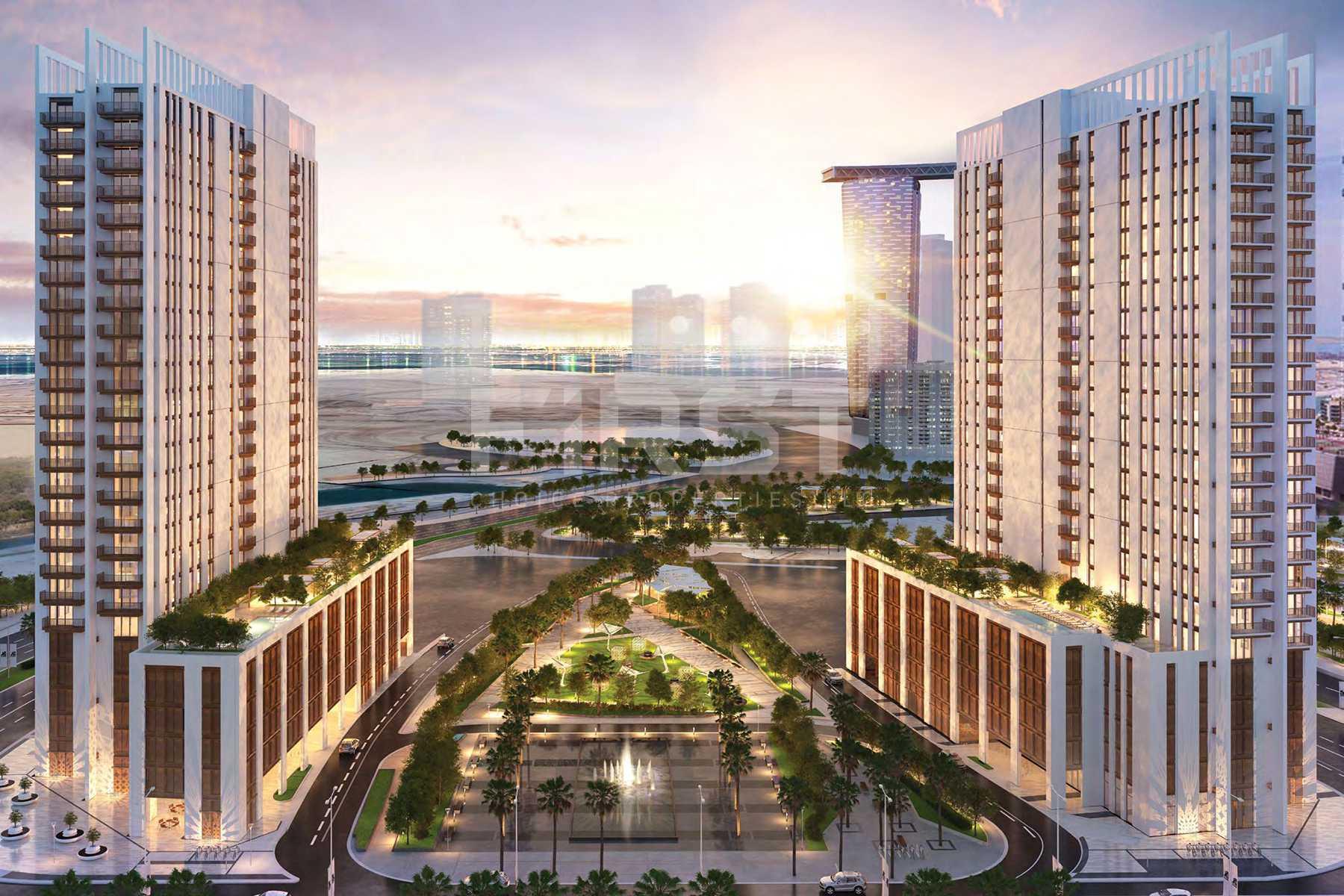 External Photo of Reflection Tower in Shams Abu Dhabi, Al Reem Island Abu Dhabi UAE (11).jpg